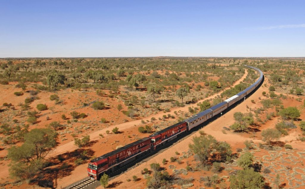 The Ghan Outback train