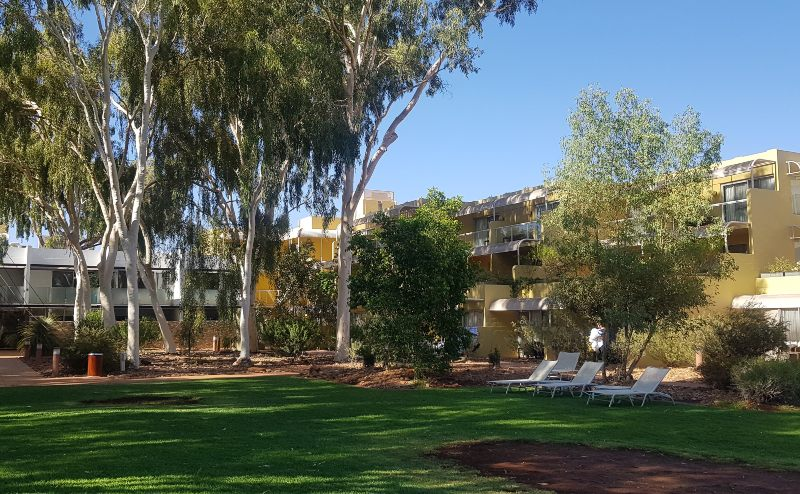 The rooms at Sails in the Desert Uluru