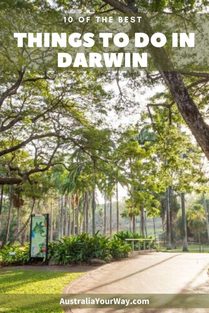 10 things to do in Darwin Australia