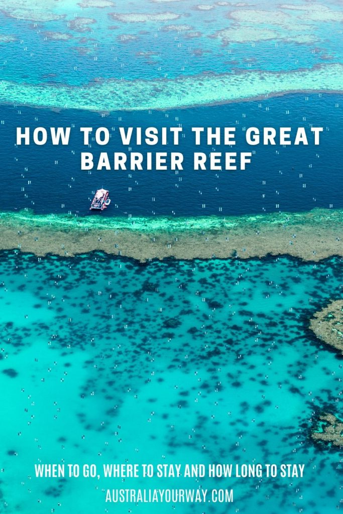 Visit the Great Barrier Reef QLD Pin