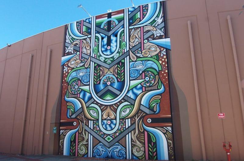 Beastman Mural Bunbury 2015