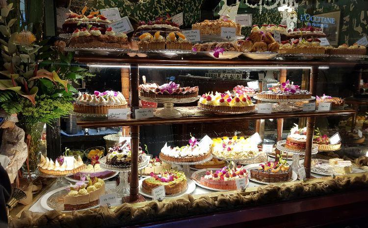 Hopetoun Tea Room Cakes