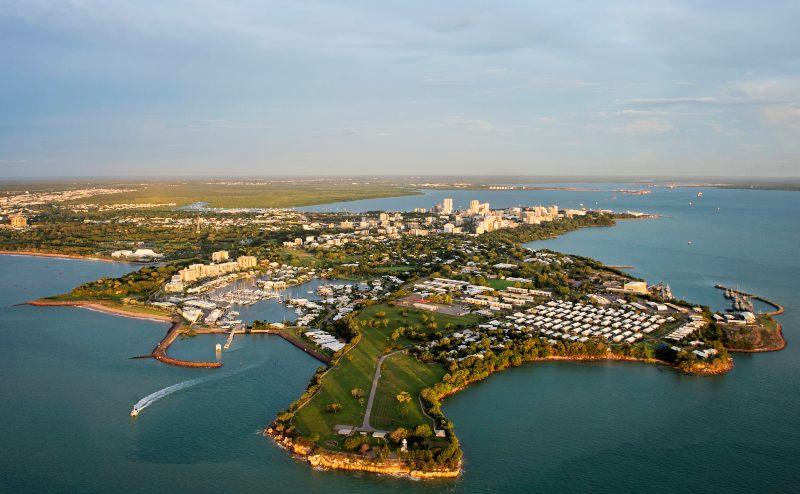 Darwin Day aerial Tourism NT Shaana McNaught 800
