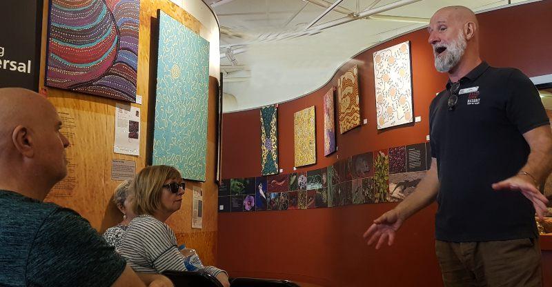 Free talks on aboriginal art and culture