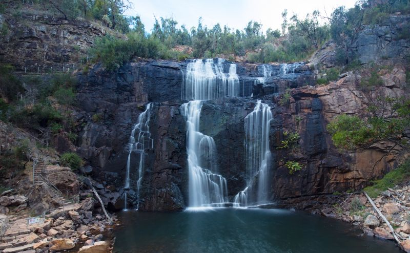 Mackenzie Falls in the Central Grampians