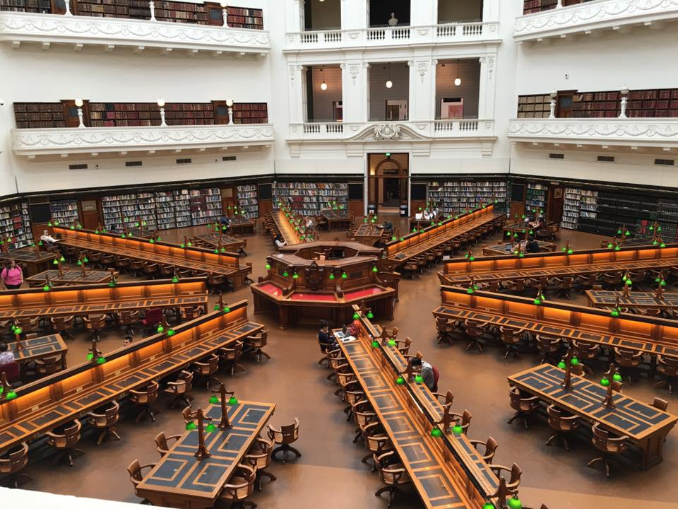 State Library Melbourne Reading room