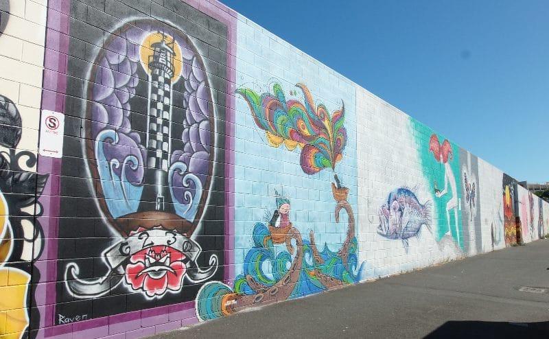 Laneway mural bunbury