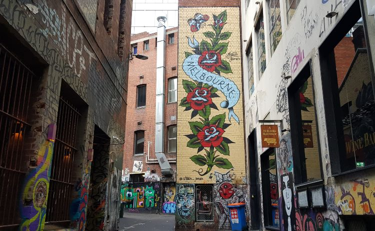 One of the best free things to do in Melbourne is check out the street art murals