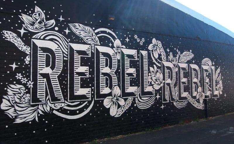 Rebel Mural Bunbury WA