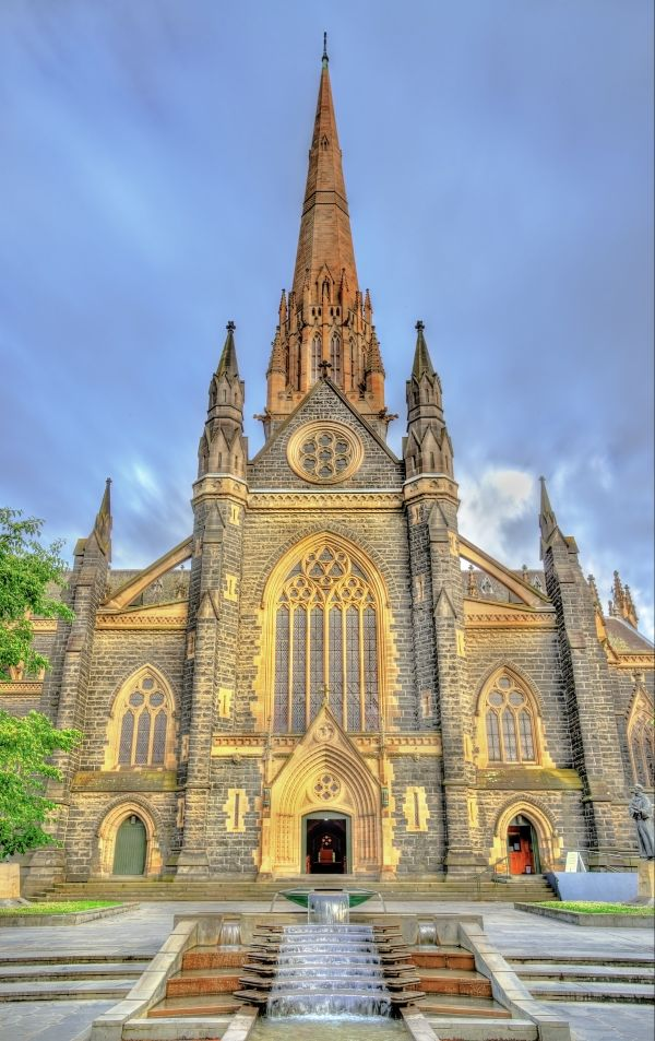 St Patricks catholic cathedral in Melbourne