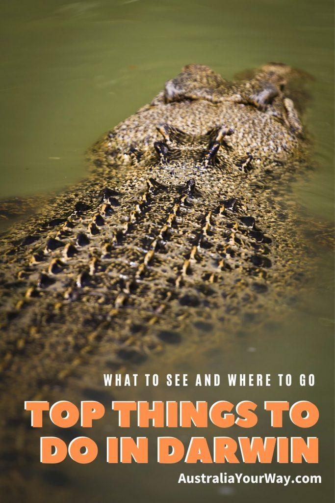 Top things to do in Darwin australia