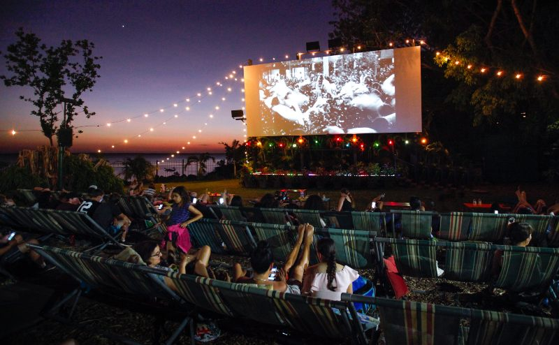 Tropical night at the Deckchair Cinema Credit Tourism NT Friederike Franze 800