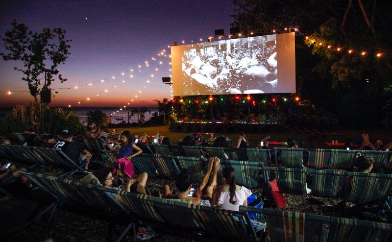 Tropical night at the Deckchair Cinema Credit Tourism NT Friederike Franze 800