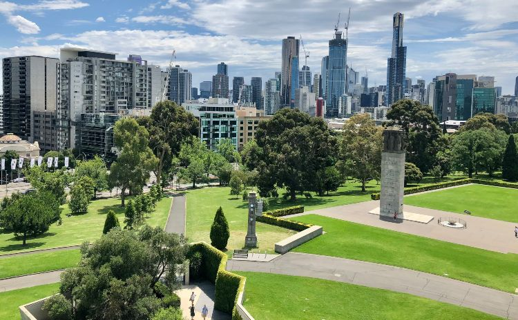 View of Melbs Skyline From Upper Balcony 1 1