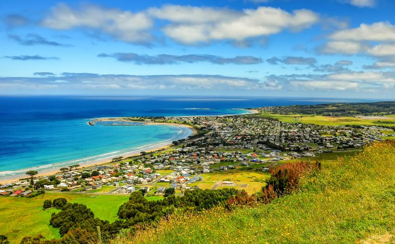 Apollo Bay Lookout Great Ocean Road Vic.