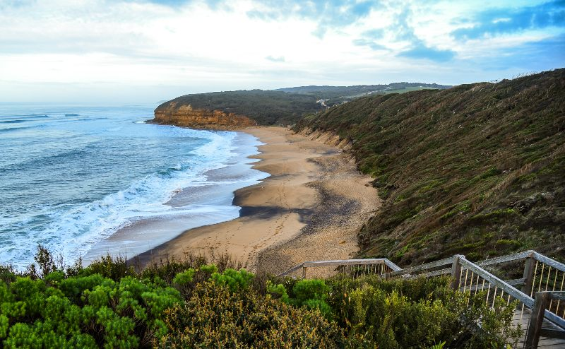 Bells Beach on the Great Ocean Road