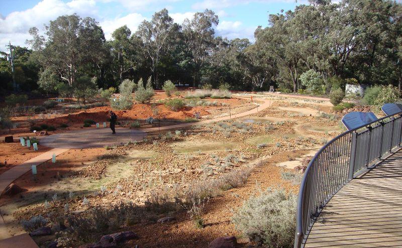 Australian National Botanic Garden Red Centre Garden 2 1