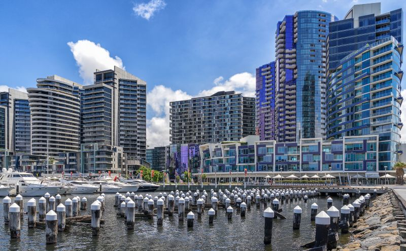 Docklands Melboune a great place to stay