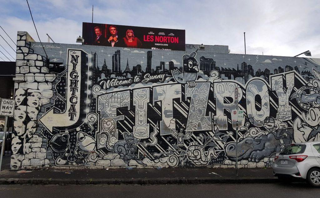 Fitzroy mural
