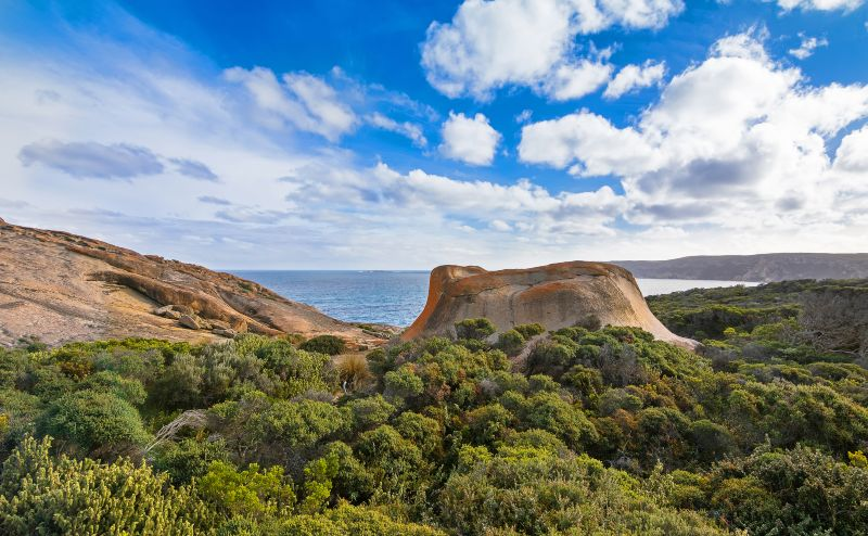 Remarkable Rocks Flinders Chase National Park. One of Kangaroo Island's iconic landmarks, South Australia