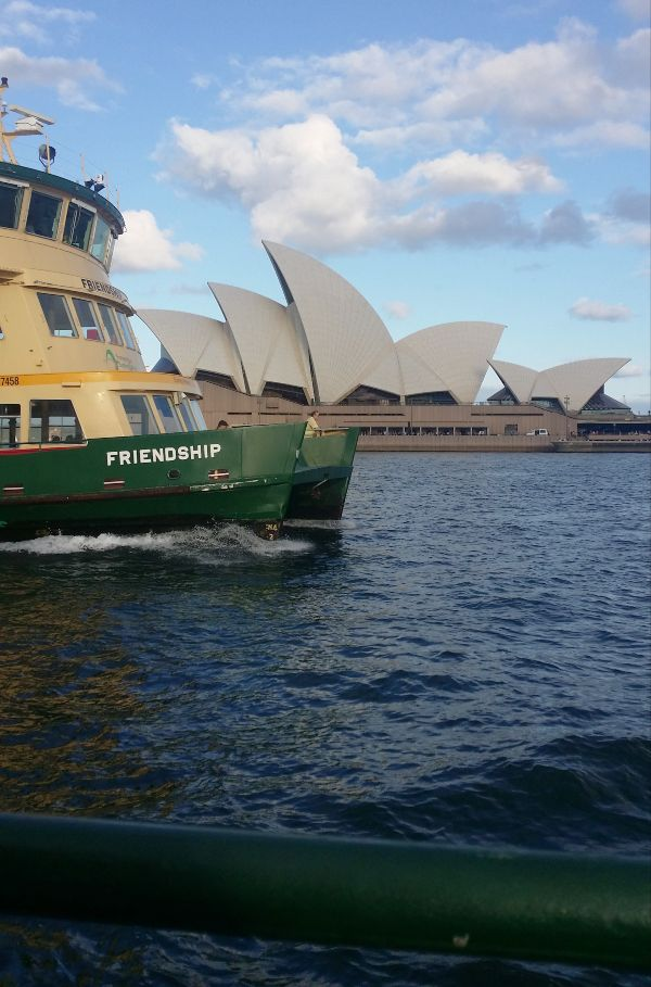 A ferry ride on the harbour is a must for a weekend in Sydney