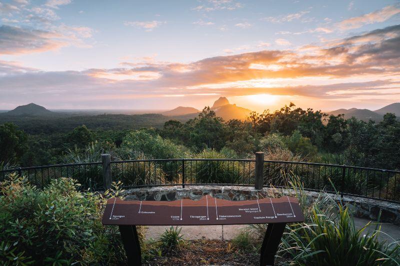 Glasshouse Mountain Lookout Queensland Sunshine Coast