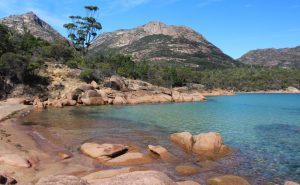 Honeymoon Bay on Tasmania's east coast