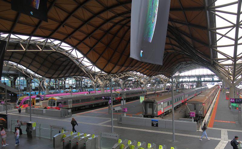 Melbourne Spencer Street Station