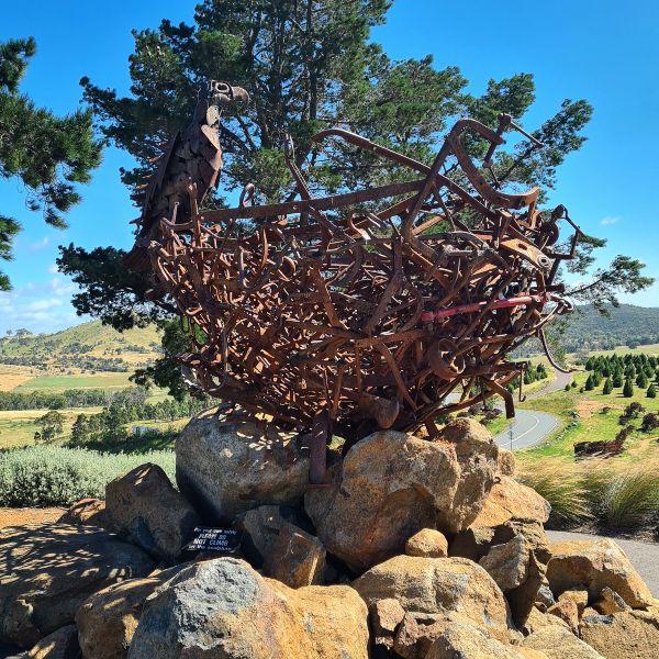 Nest III Sculpture Canberra