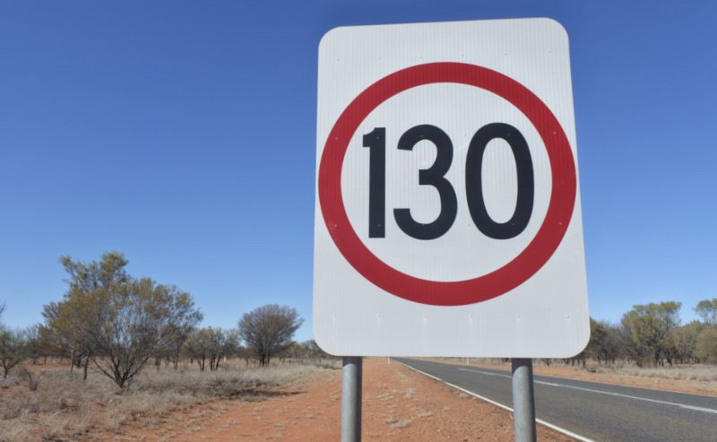 Northern Territory Speed limit 130