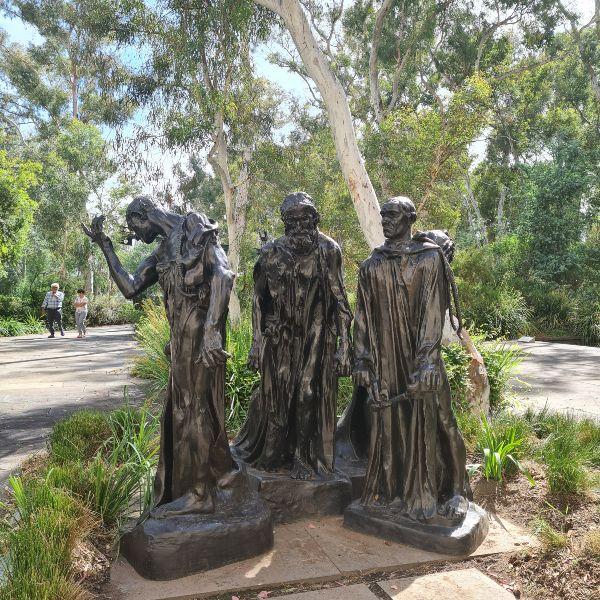 Rodin NGA Garden Canberra