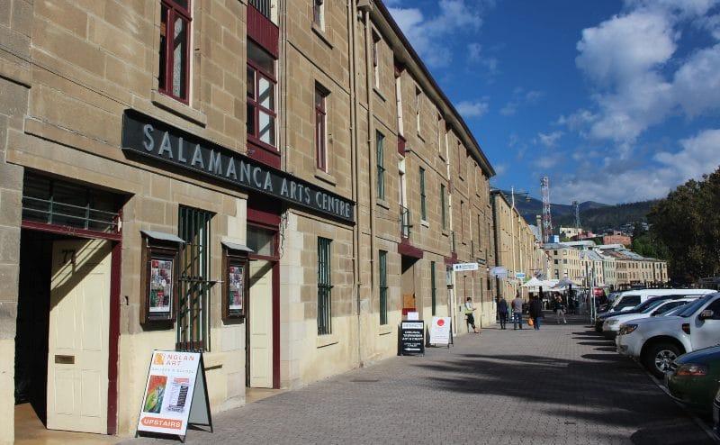 Salamanca Arts Centre Hobart Day tour