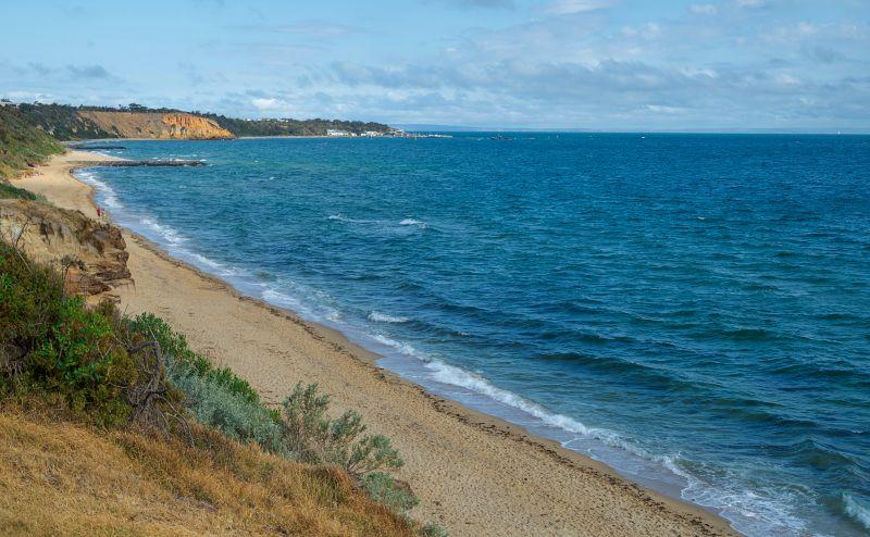 Sandringham Beach Melbourne Bayside Walk