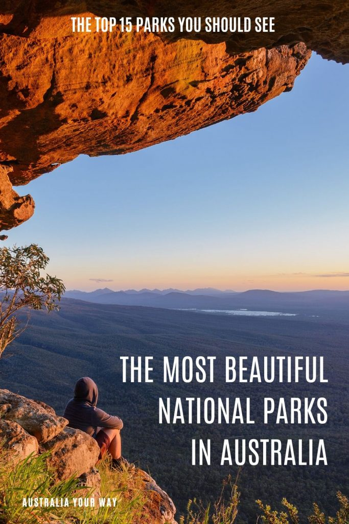 The most beautiful national parks in Australia pin