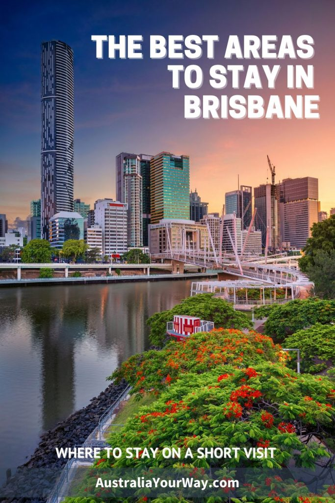 Where to stay in Brisbane pin