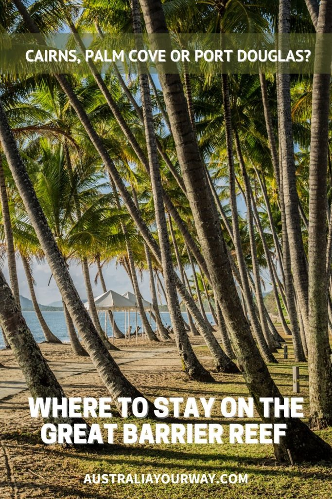 Where to stay in cairns pin