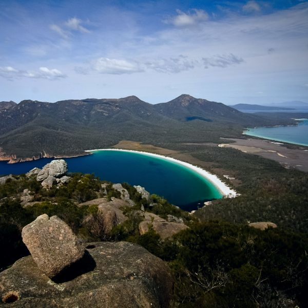 Wineglass Bay Freycinet National Park Tasmania 600