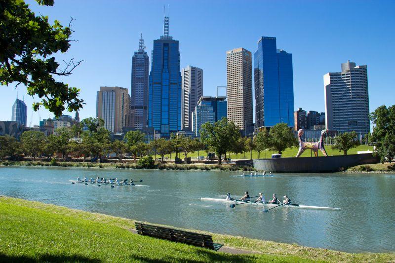 Yarra River Rowing Melbourne
