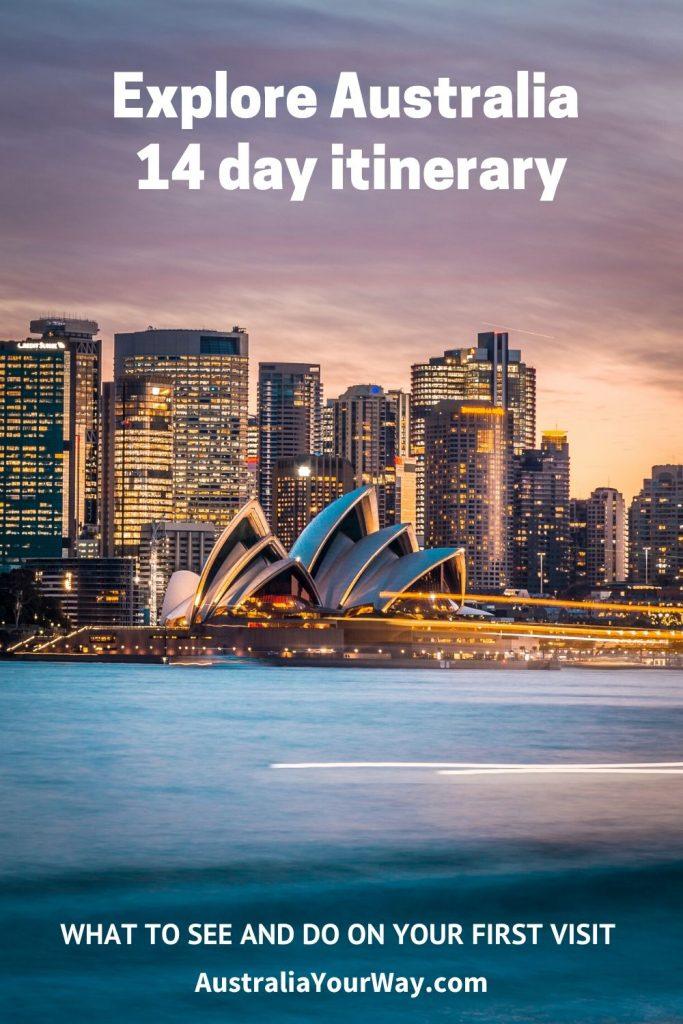 Australian in 14 days