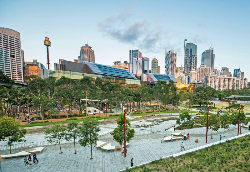 Darling Quarter and Tumbalong Park Sydney
