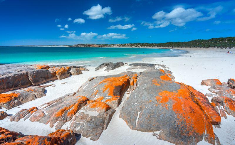 Dolphin Bay on the Yorke Peninsula South Australia