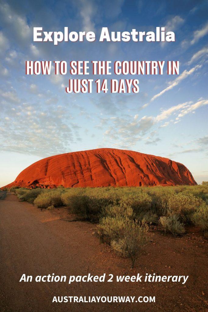 Explore Australia in 14 days