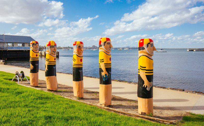 Geelong Waterfront Bollard Art