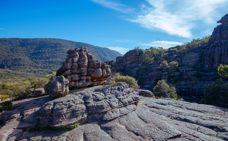 The Wonderland Hike in the Grampians National Park.