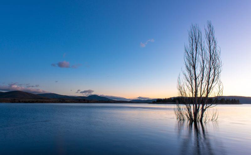 Lake Jindabyne in NSW