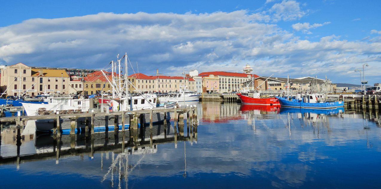 Looking towards The Henry Jones Art Hotel Mandatory credit Tourism Tasmania Kathryn Leahy 1275 1