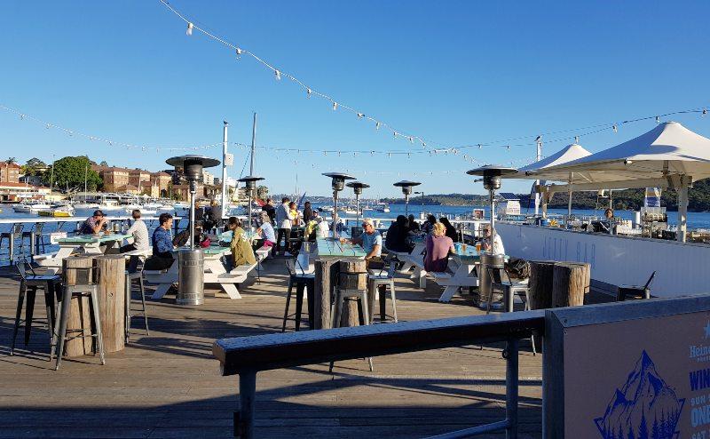 Manly Wharf Bay Sydney Australia