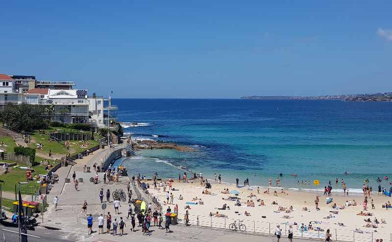North Bondi Mermaids Pool Sydney