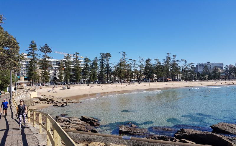 Walkway to Shelly Beach manly