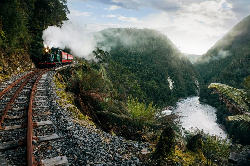 West Coast Wilderness Railway (formerly ABT Railway) Tasmania